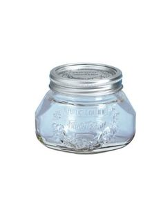 Leifheit Canning Supplies 2-Cup Glass Preserving Jars,set of 6: $17