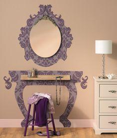Kaptafel met spiegel maken | KARWEI