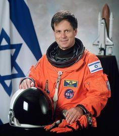 The first Israeli astronaut Ilan Ramon