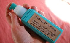 All Natural Conditioner Recipe... I want to make this!