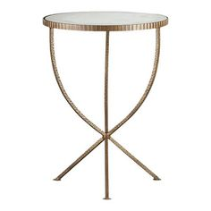 crate and barrel's jules accent table