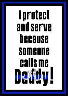 polic daddi, polic wife, deputi wife, blue, cop