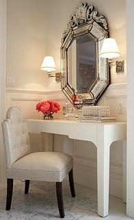 Beautiful vanity.