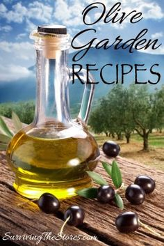 How to make TONS of #recipes from Olive Garden!!  #copycat #olivegarden ......... OMG I love Olive Garden!