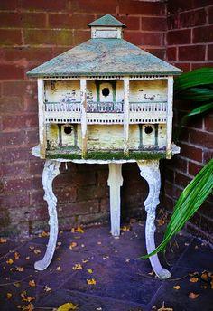 Vintage Bird House