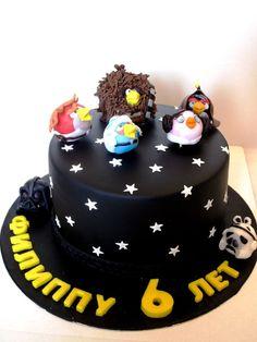 Angry Birds Star Wars cake by Yula-Yula