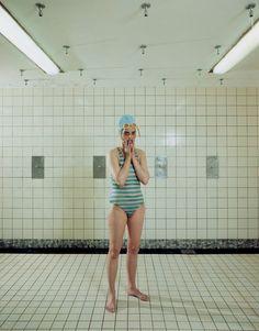 Rineke Dijkstra. 'Self Portrait, Marnixbad,