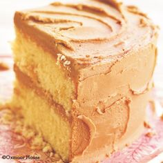 Caramel Cake with the best Whipped Cream-Caramel Frosting! From Gooseberry Patch Best-Loved Baking Recipes Cookbook