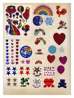 80's Vintage Stickers -