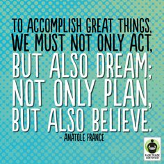We're extra grateful for all the dreamers, planners & believers who are helping change the world! #FairTrade #inspirationalquotes #quotes