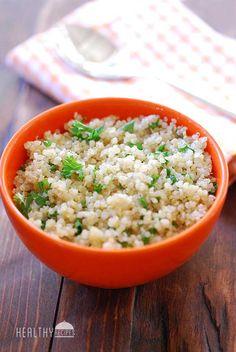 Easy Quinoa Recipe   Healthy Recipes Blog