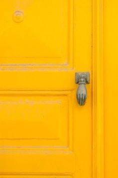 Love this Yellow door