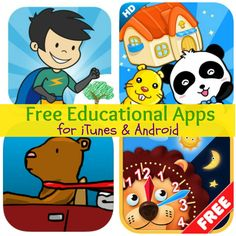 Free Educational Apps for iTunes  Android: Spelling Hero, Typing Tips,  More!