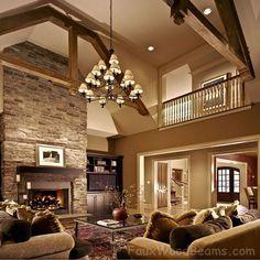 beautiful family room
