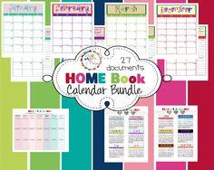 Cute home organization binder