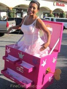 Ballerina in Music Box Halloween Costume