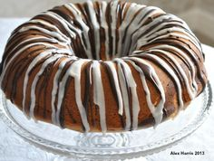 Traditional Marble Cake with Step By Step Instructions