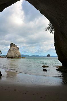 Cathedral Cove, New Zealand by Necessary Indulgences. #CathedralCove #NewZealand
