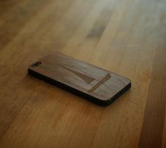Wood Cover Sailboat Walnut For iPhone 5 – $30