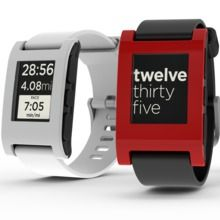 Pebble is the first watch built for the 21st century. It's infinitely customizable, with beautiful downloadable watchfaces and useful internet-connected apps. Pebble connects to iPhone and Android smartphones using Bluetooth, alerting you with a silent vibration to incoming calls, emails and messages.