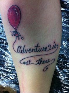 """""""Up"""" inspired ink. Really cute."""
