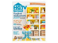 HGTV Magazine, January/February Issue!