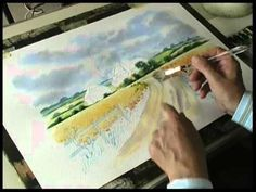 ▶ Ready to Paint , Country Landscapes , by Terry Harrison - YouTube