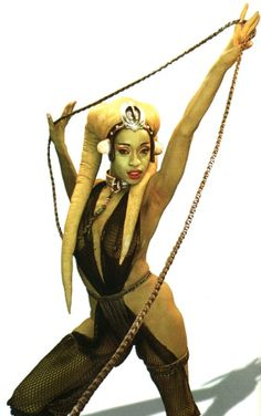 "Femi Taylor as Oola in ""Star Wars: Episode VI - Return of the Jedi"""