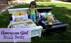 {More} American Girl Doll Beds