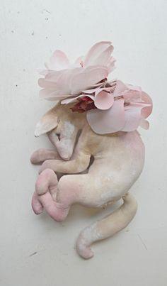 Petal fox By Mister Finch http://www.mister-finch.com/