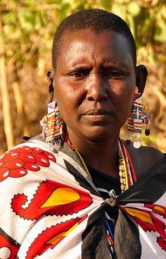Maasai women. Shompole, Kenya, via Flickr.