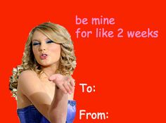 Taylor Swift Valentine