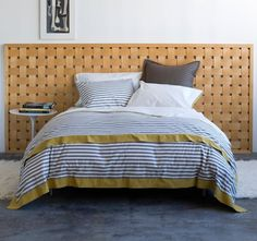 dwell studio bedding: ...always make my bed in the morning...