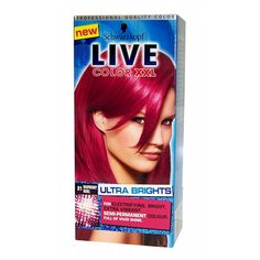 *sigh* my hair is never going to grow, but now I want raspberry hair. (Schwarzkopf Live Color XXL Semi-Permanent Hair Colourant Raspberry Rebel 91)