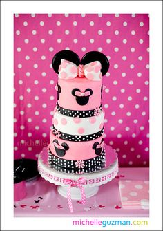 Minnie Mouse 2nd Birthday | CatchMyParty.com