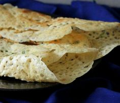 Rice Flour Crepes (gluten free, vegan)