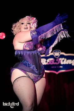 Dirty Martini at The New York Burlesque festival.  I love her country style fringe.