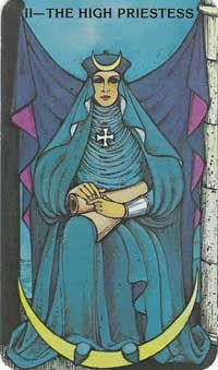 High Priestess - Morgan-Greer Tarot