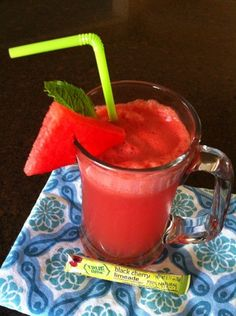 Cherry-Melon Mojito Cooler