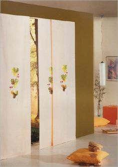 cortinas japonesas para el, para las