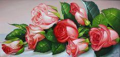 Вышивка королевские розы схемы