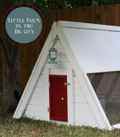 Red, White, and Blue Coop | Do It Yourself Home Projects from Ana White