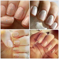 Sparkly Wedding Manicures | Be A Bride Blog