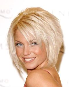 trendy short hairstyle - Click image to find more hair posts
