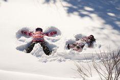 kid pics, activities for kids, childhood memories, snow angel, snow pictures