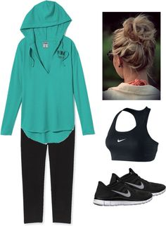 """""""Workout Outfit"""" by kaitlyn-binczak on Polyvore"""
