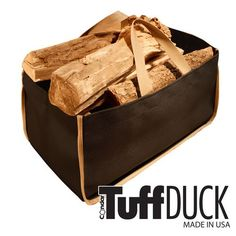 TuffDuck Weatherproof Carryall Junior Size - BLACK with KHAKI TRIM (8-12) - feature easy grip handles, rot-proof and stain-resistant fabric, and heavy-duty double stitching. Made in the USA. Tuff Duck http://www.amazon.com/dp/B000UPTIJE/ref=cm_sw_r_pi_dp_SlAfub04XDC9T