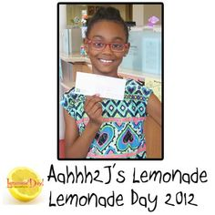 Nyla started her Aahhh 2J's Lemonade Day stand with a loan she took out from Young Americans Bank, where she has had an account since she was 6 months old! She has since paid back her loan and continues to run her lemonade business online. With the profit she makes from her lemonade business, she has decided to put it in the bank.