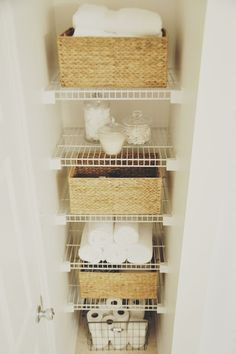 Inspired At Home:: Closets Organized Neatly