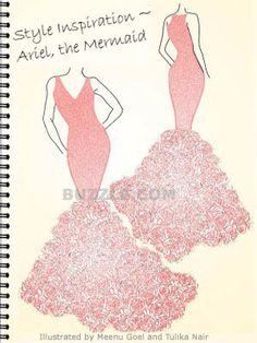 Interesting!!! dress patterns, evening dresses